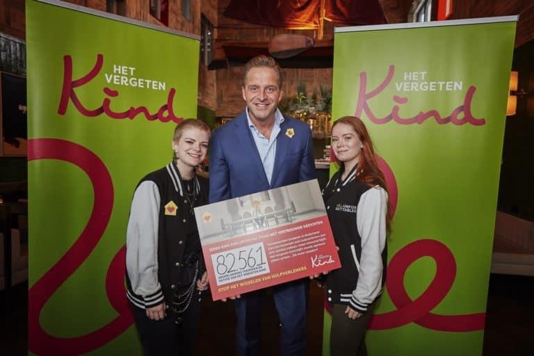 Minister Hugo de Jonge voor Stichting het vergeten Kind