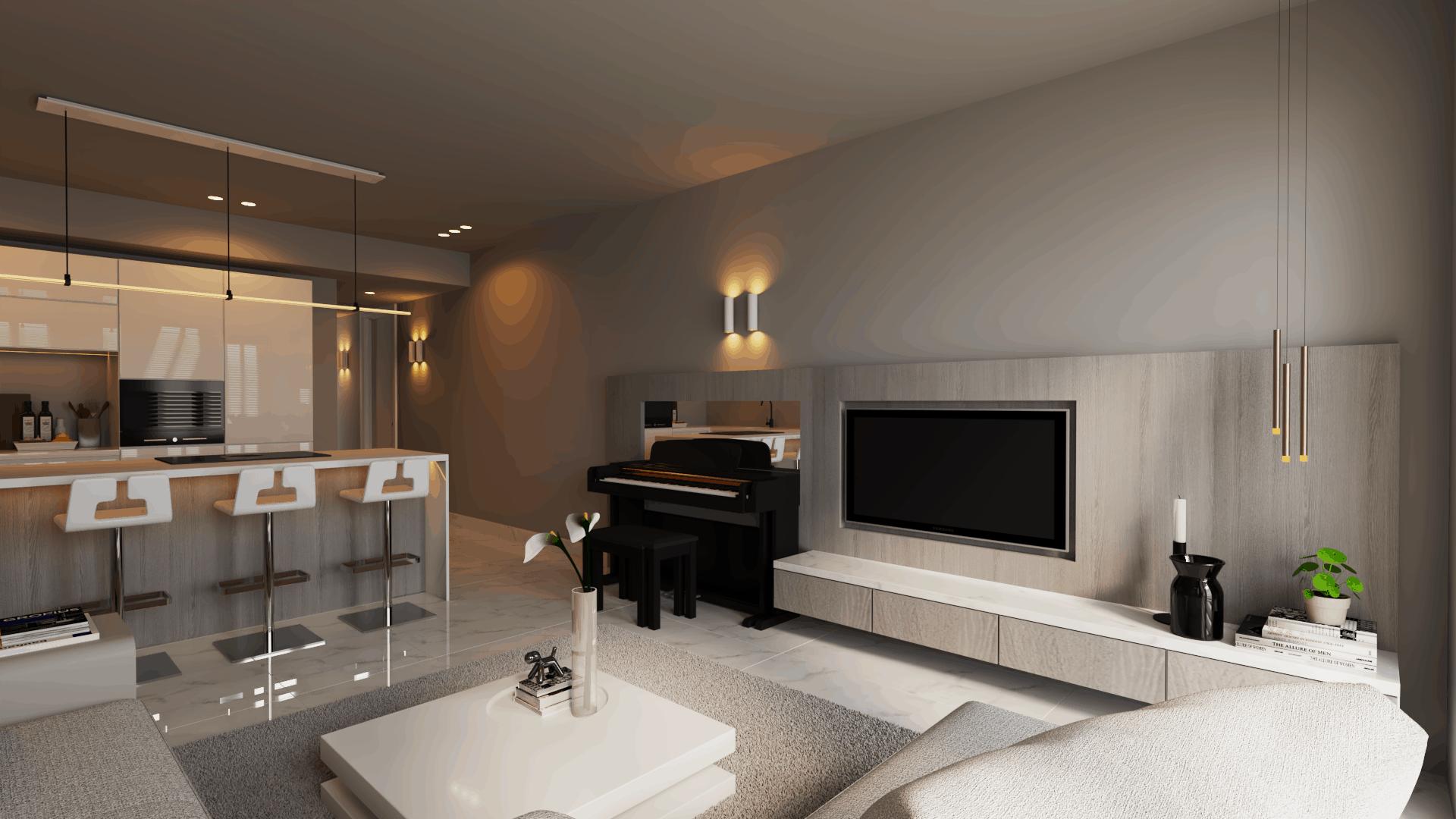 modern interieur appartement