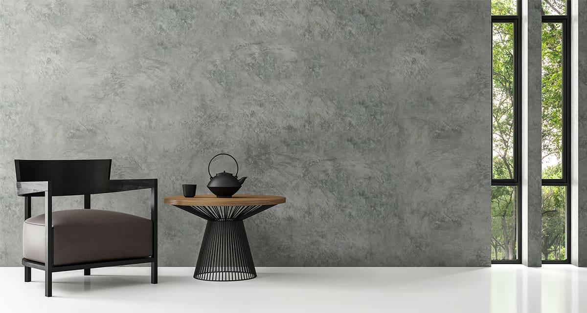 stoel in een ruimte met interieurstyling